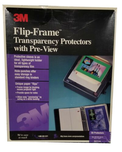3M Flip-Frame Transparency Protectors with Pre-View