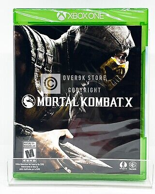 Mortal Kombat X - Xbox One - Brand New   Factory Sealed