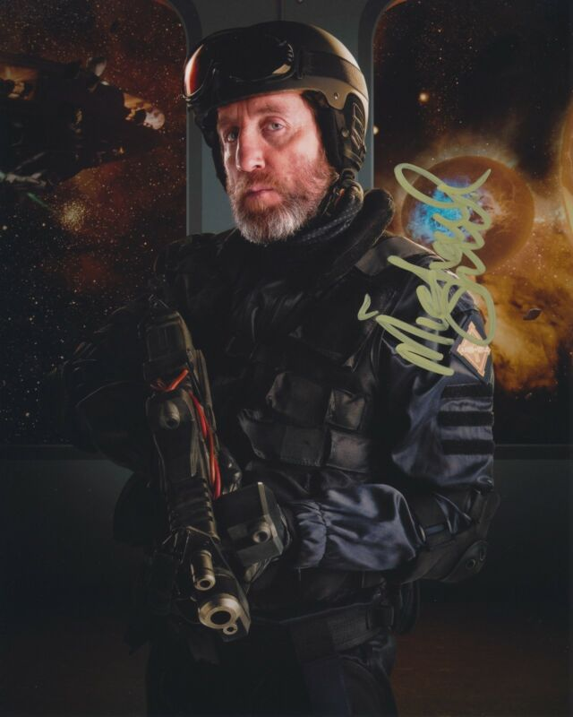 MICHAEL SMILEY SIGNED DOCTOR WHO 8X10 PHOTO 2