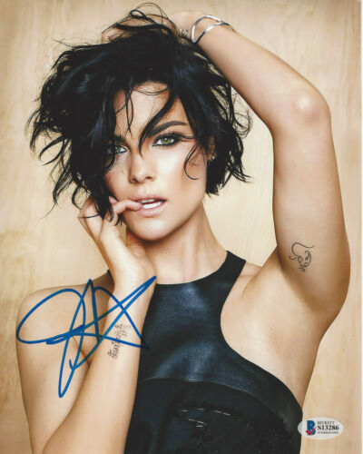 JAIMIE ALEXANDER SEXY ACTRESS SIGNED 8X10 PHOTO 3 THOR BLINDSPOT BECKETT COA BAS