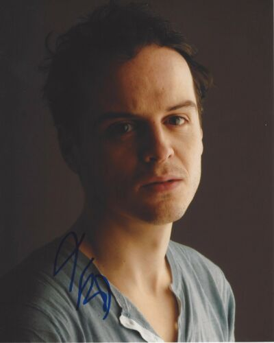 ACTOR ANDREW SCOTT SIGNED SHERLOCK 8X10 PHOTO D W/COA SPECTRE JAMES BOND MOVIE