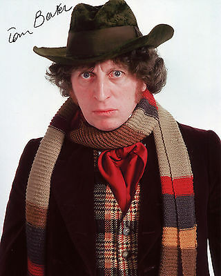 Tom Baker - Doctor Who - Doctor Who - Signed Autograph REPRINT