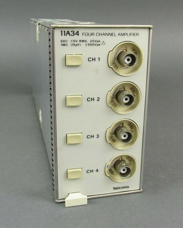 Tektronix 11A34 4-Channel Amplifier Plug-In for 1100 Series - 300MHz