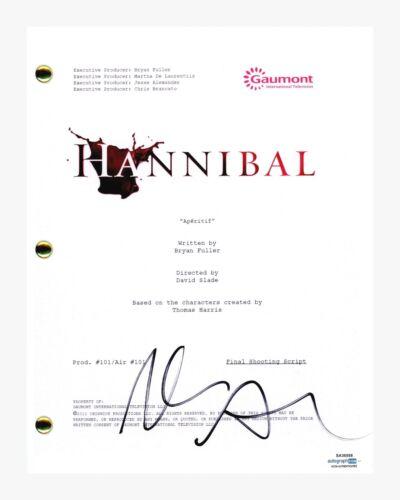 Aaron Abrams Signed Autographed HANNIBAL Pilot Episode Script ACOA COA