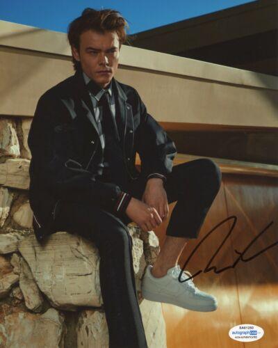 Charlie Heaton Stranger Things Autographed Signed 8x10 Photo COA #11