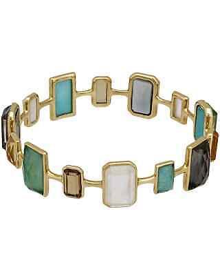 Ippolita Rock Candy 18k Yellow Gold Multi-colored Stones & MoP Bracelet $7500