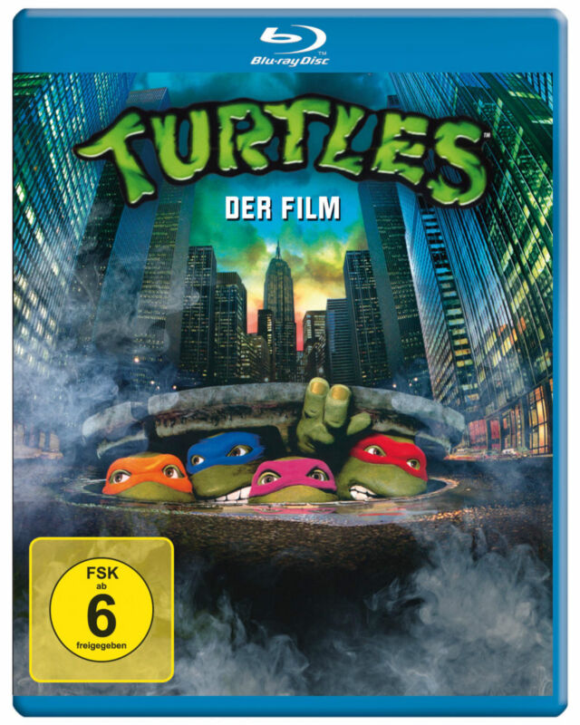 Turtles 1 - Der Film (Teenage Mutant Ninja) Blu-ray Disc NEU + OVP!