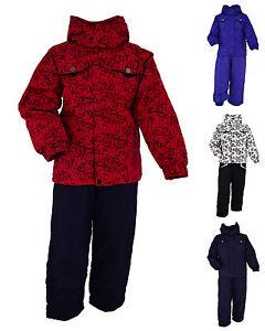 skianzug kinder m dchen jungen schneeanzug winteranzug skijacke skihose 98 140. Black Bedroom Furniture Sets. Home Design Ideas