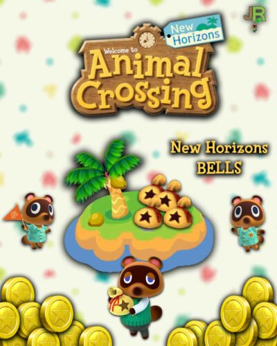Switch Animal Crossing New Horizons 💰 Bells + Gold Tools 💰