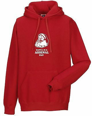 SANTA IS A ARSENAL FAN HOODIE KIDS