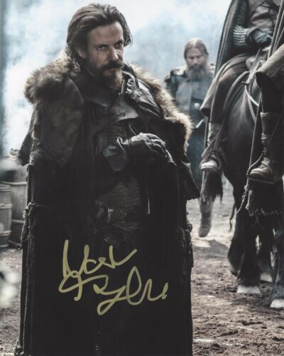 ACTOR NOAH TAYLOR SIGNED GAME OF THRONES 8X10 INCH PHOTO B W/COA PROOF LOCKE