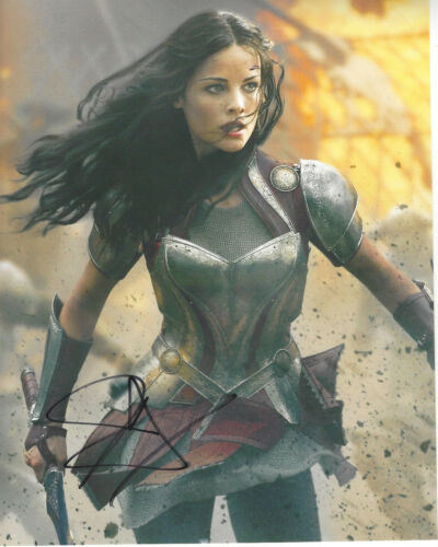 JAIMIE ALEXANDER SEXY ACTRESS SIGNED AUTHENTIC 8X10 PHOTO E w/COA THOR BLINDSPOT