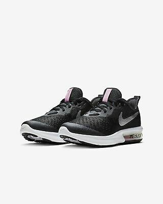 Nike Air Max UK Size 6 EUR 40 Womens Trainers Black Running Shoes