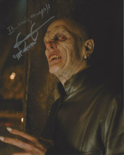 MARK METCALF SIGNED 'BUFFY THE VAMPIRE SLAYER' THE MASTER 8x10 PHOTO B COA ACTOR