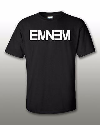 Eminem New Logo T Shirt Brand New Authentic Rock Hip Hop Rap Tee Free Shipping