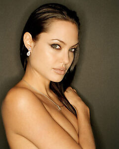 ANGELINA JOLIE 8X10 PHOTO PICTURE HOT SEXY CANDID 91
