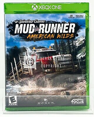 Spintires: MudRunner - American Wilds - Xbox One - Brand New   Factory Sealed