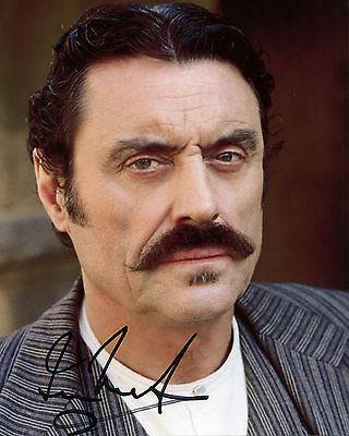 Ian McShane - Al Swearengen - Deadwood - Signed Autograph REPRINT
