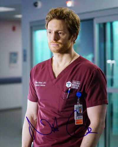 NICK GEHLFUSS SIGNED CHICAGO MED 8X10 PHOTO AUTOGRAPH COA FIRE LOVE AND MERCY A