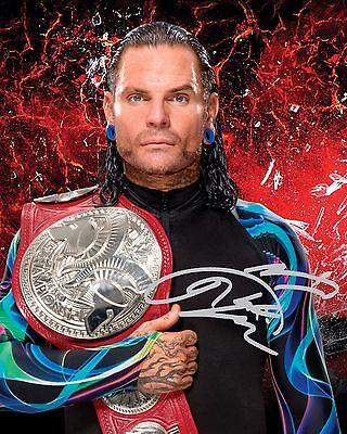 JEFF HARDY #1 (WWE) - 10x8 PRE PRINTED LAB QUALITY PHOTO (SIGNED) (REPRINT)