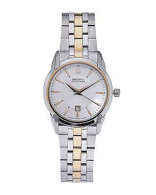 Accutron Women's 65M104 Sorengo Two Tone Quartz Stainless Steel Dress Watch