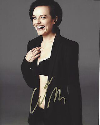 Actress Elisabeth Moss Signed 8X10 Photo W Coa Elisabeth West Wing Mad Men