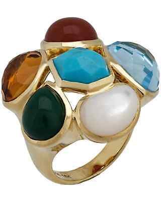 Ippolita Rock Candy 18k Yellow Multi-colored Stones Cocktail Ring GR295RIV $4495