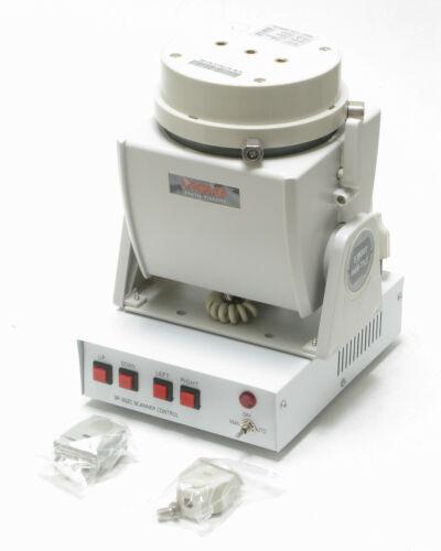 Motorized Pan & Tilt Base w/ 4-button Controller, 110VAC, 15lb load
