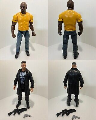 Marvel Legends Netflix Lot Luke Cage Punisher