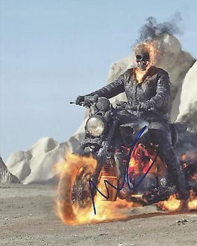Nicolas Cage #2  8 x 10 Autograph Reprint Ghost Rider Kick-Ass National Treasure