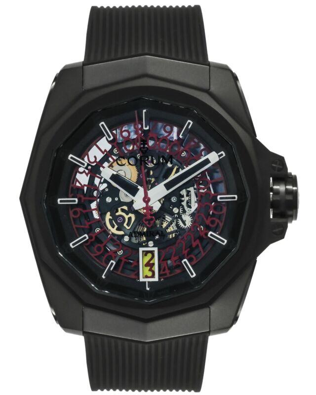 CORUM ADMIRAL AC-ONE 45 SQUELETTE PVD TITANIUM AUTOMATIC MEN'S WATCH $10,400 - watch picture 1