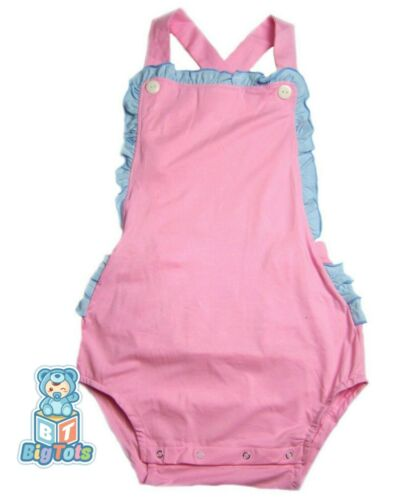 Adult Pink &  Blue sunsuit/romper