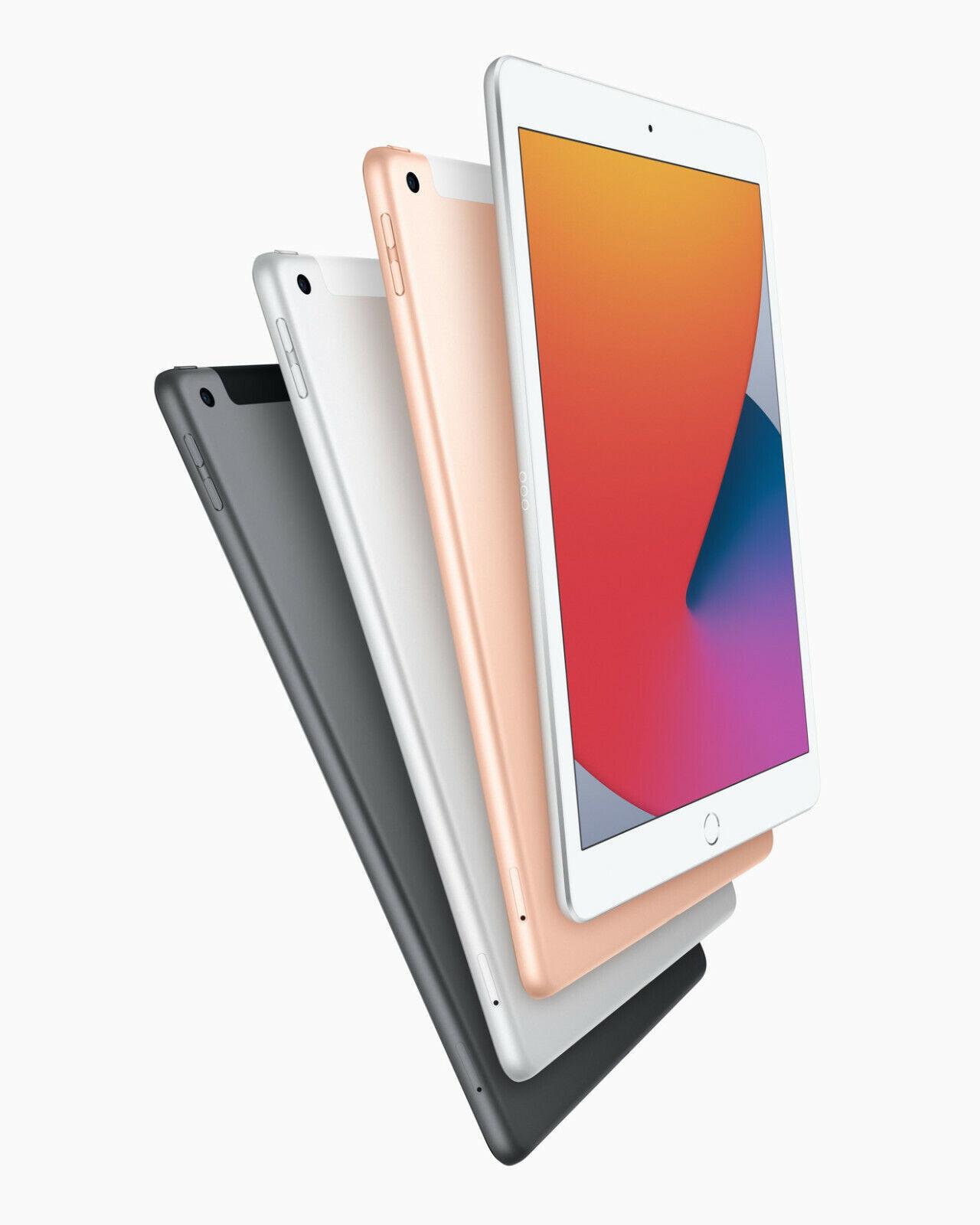 """NEW Apple iPad 8th Latest Gen 10.2"""" Retina Display A12 Chip"""