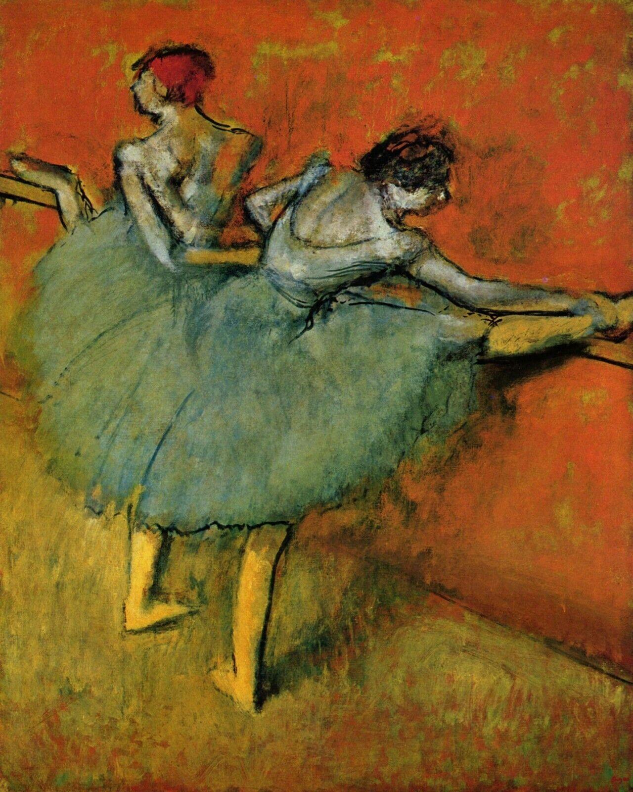 Four dancers by Edgar Degas 66 Van-Go Paint-By-Number Kit
