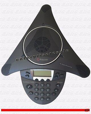 Polycom Soundstation Ip 6000 2201-15600-001 Hd Voice Conference Ip-6000 Grade C