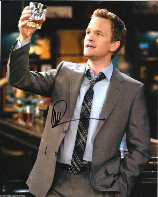 NEIL PATRICK HARRIS SIGNED HOW I MET YOUR MOTHER 8X10 PHOTO COA GONE GIRL NPH