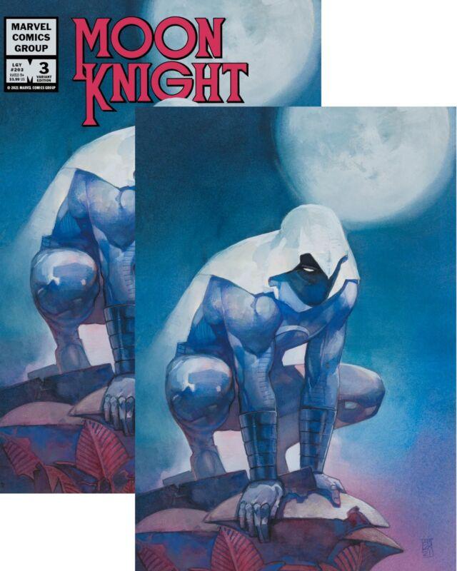 Moon Knight #3 Ultimate Comics Alex Maleev Virgin/Logo Variant Set 1st Hunters