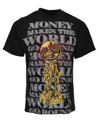 Vintage SCARFACE The World is Yours 90s Money Power Gangster Movie Tee Shirt - L
