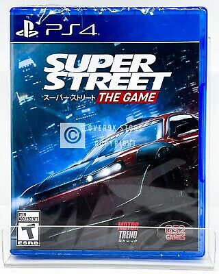 Super Street The Game - PS4 - Brand New | Factory Sealed