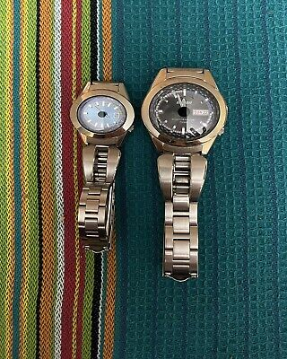 Vintage Pulsar By Seiko His And Her SPOON Quartz Watches