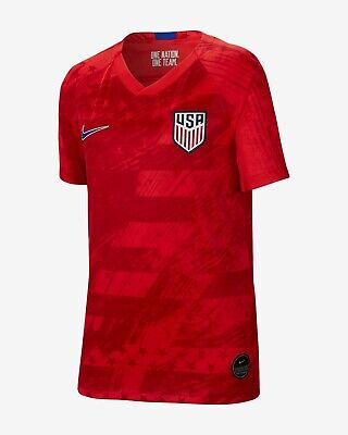 Nike U.S.A. Official 2019 2020 Away USA Soccer Jersey ()