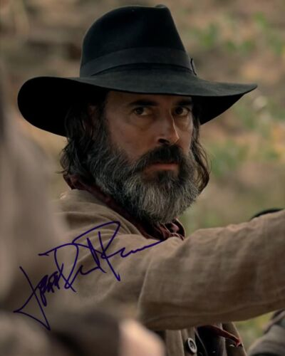 JEFFREY DANIEL PHILLIPS SIGNED WESTWORLD 8X10 PHOTO AUTOGRAPH COA CAVEMAN