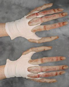 Alien Long Fingers Spaceman Monster Hands Scary Adult Halloween Costume Gloves