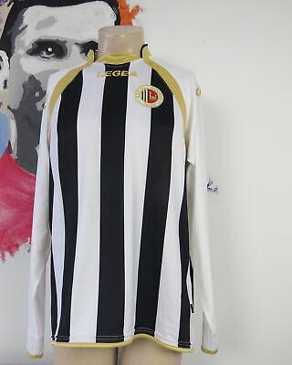 Ascoli Calcio 2010 2011 l/s home shirt Legea maglia calcio soccer jersey size L image