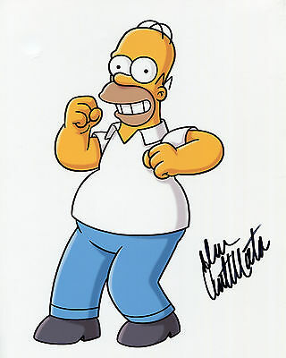 Dan Castellaneta - Homer Simpson - The SImpsons - Signed Autograph REPRINT
