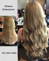 HAIR EXTENSIONS (HAIR INSTALL AND STYLE INCLUDED)