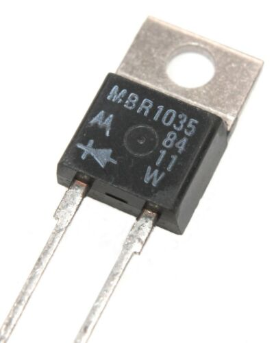 MBR1035, Ultrafast Plastic Rectifier 35V, 10A - Lot of 1, 5, or 10.