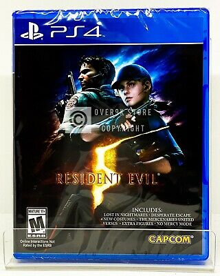 Resident Evil 5 - PS4 - Brand New | Factory Sealed