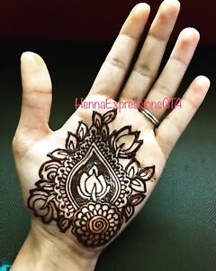 Party and event henna