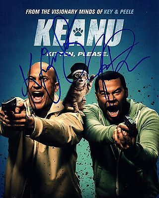 Keegan Michael Key Jordan Peele Signed Keanu 8X10 Photo  Autograph 1